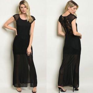 Dresses & Skirts - Black Mesha Maxi